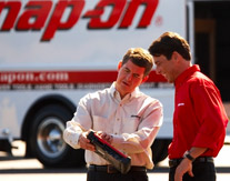 Snap-on supports its Franchisees with training