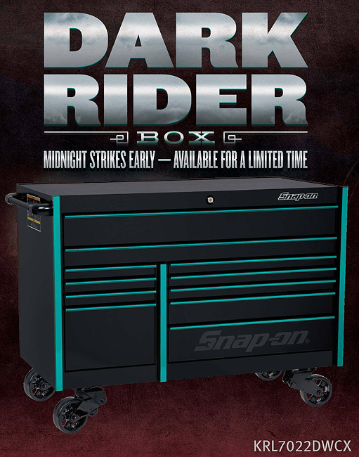 Snap-on Dark Rider Box