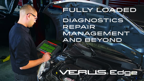 VERUS Edge, Fully Loaded: Diagnostics, Repair, Management and Beyond