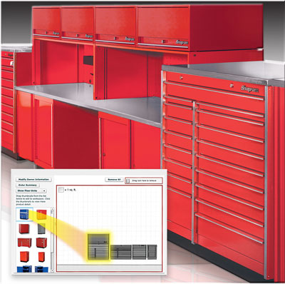 Snap on Industrial Stationary Storage Solutions