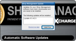 ShopKey Shop Management, Automatic Software Updates